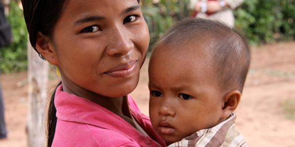Public Health Rural Cambodia Children Family
