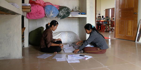 Small Business Women Rural Cambodia Sewing Center