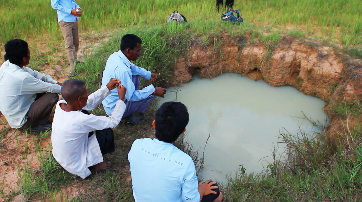 Community First - Hand Dug Water Pit 1