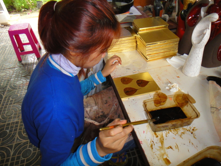 Community First - Lacquer workshop